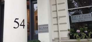 54 Boutique Hotel Kensington London