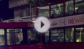 Crash of Two London Buses, South Kensington