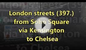 London streets (397.) - Soho Square (W1) - Kensington (SW7