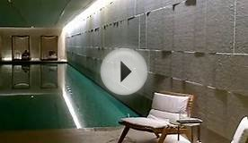 Vitality pool at ultra luxury SPA - Bulgari Hotel London